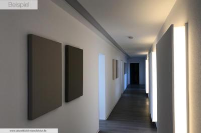Schallschluckende Wandbilder der Akustikmanufaktur