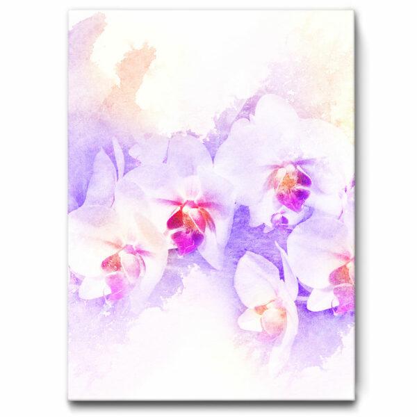 """Akustikbild """"Orchidee"""""""
