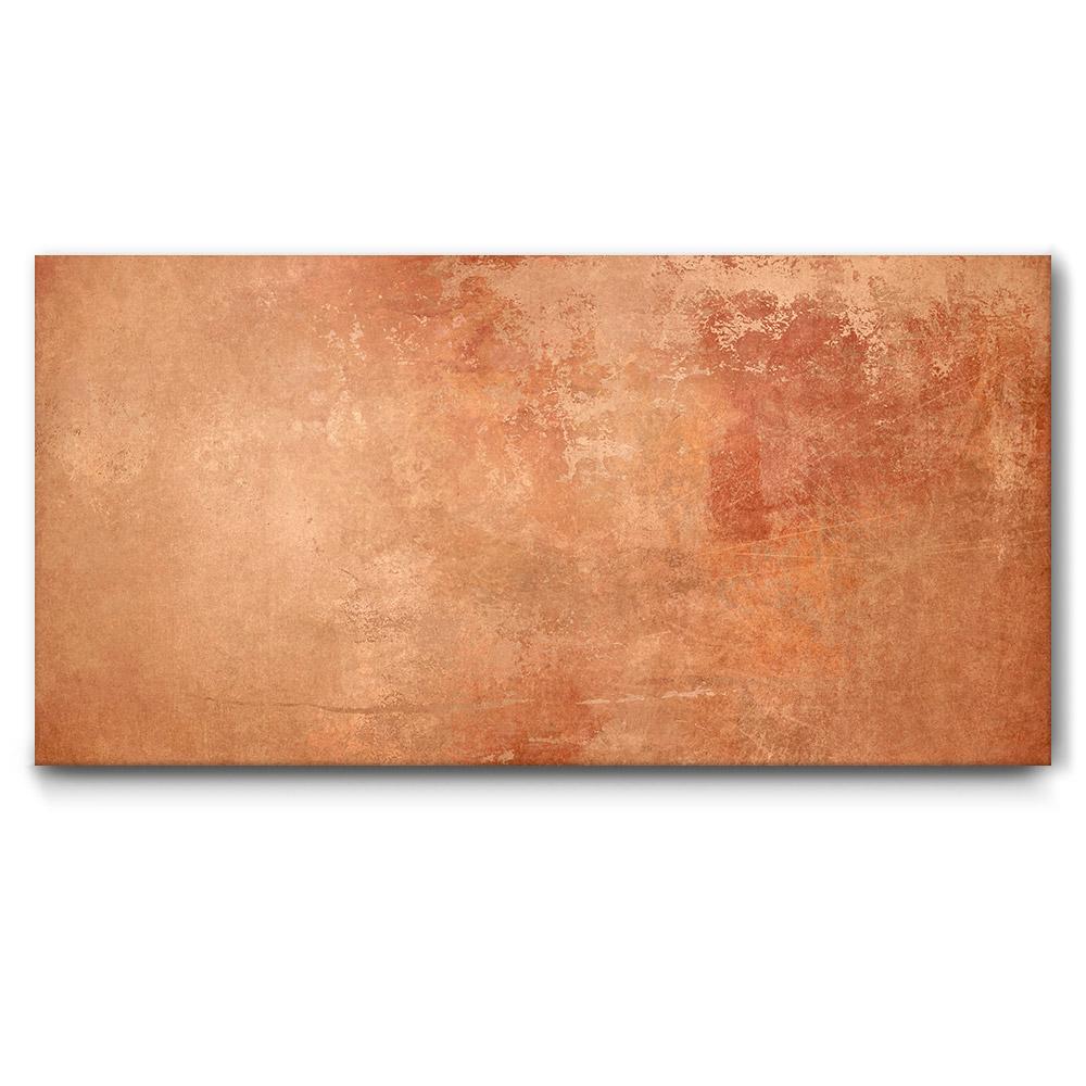 Metall Effekt Wandfarbe Kupfer: Hochwertiges Akustikbild Kupfer Metallic Mit Dezentem