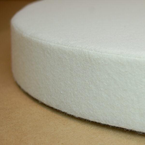 Akustikabsorber in Natur Weiß