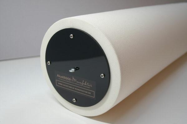 Schallabsorber Säule mit Stoffbezug