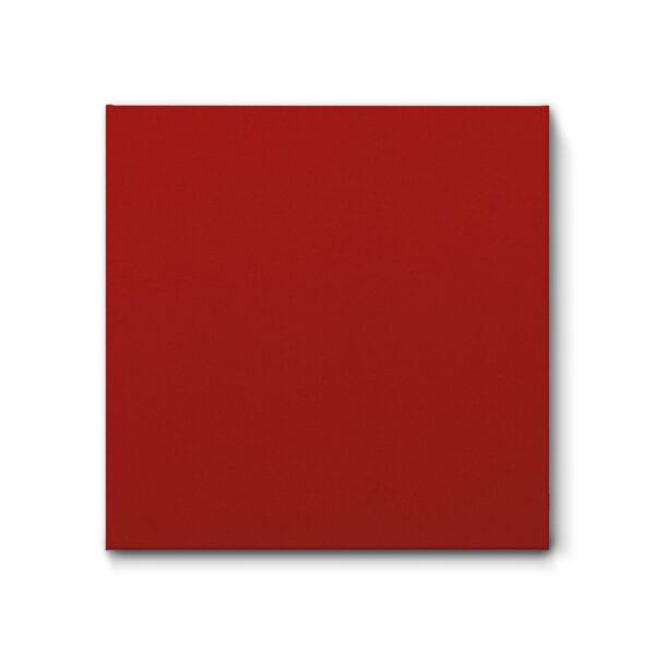 Schallschutz Akustikbild aus Filz, Farbe Warmes Rot
