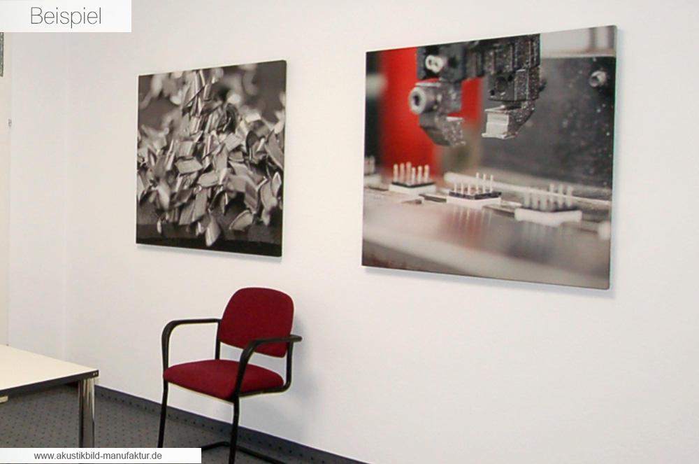 Akustikbild Manufaktur Beispiel Akustikbilder mit eigenem Foto