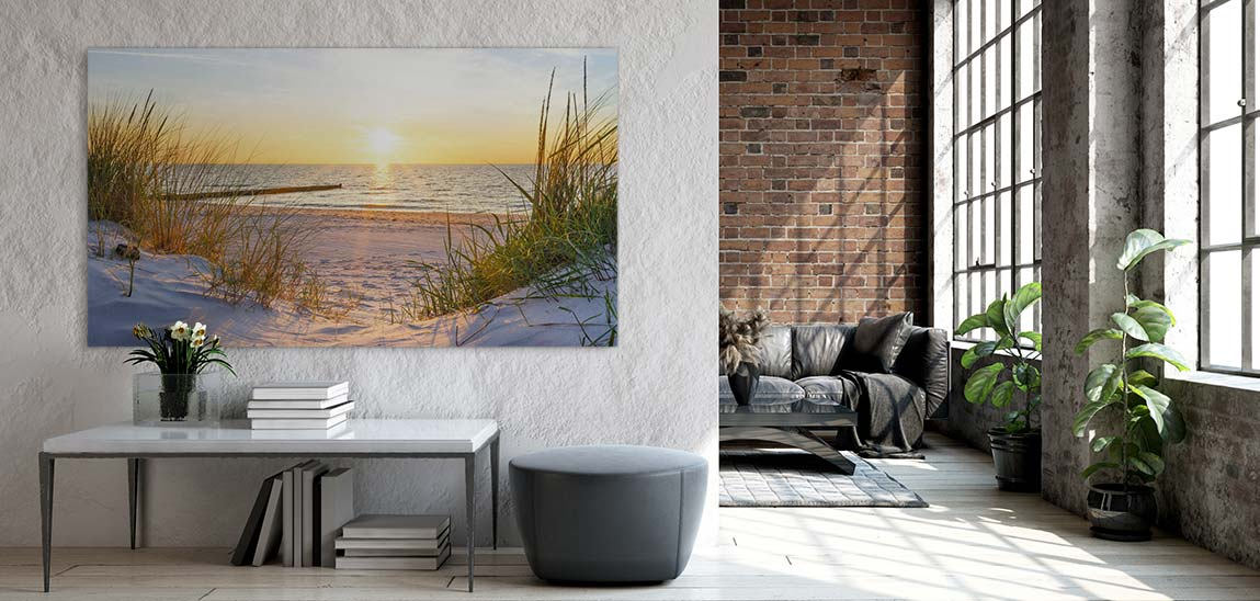 Akustik Bilder mit Landschaften: Motiv Düne 3