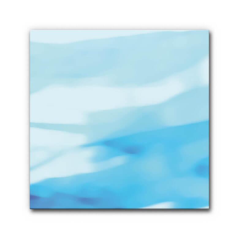 Winterliche Einrichtung mit abstraktem Motiv Underwater