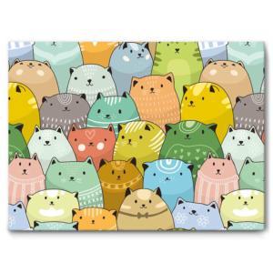 """Schallschlucker für Kinder """"Little Cats Crowd"""""""