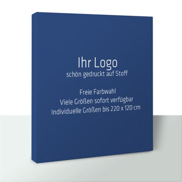 Schallschutzbild Akustikbild mit Logo (individueller Druck)