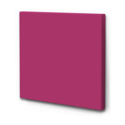 einfarbige Schallabsorber in pink