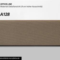 Office Line Taupe Dunkel (Nr A-128) für runde Absorber Decke, Deckensegel oder Akustikbilder