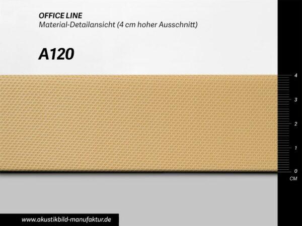 Office Line Lichtgelb (Nr A-120) für runde Absorber, Deckensegel oder Akustikbilder