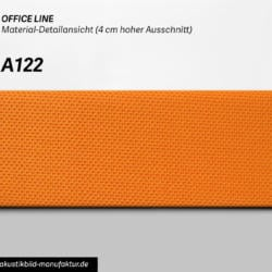 Office Line Orange (Nr A-122) für runde Absorber, Deckensegel oder Akustikbilder