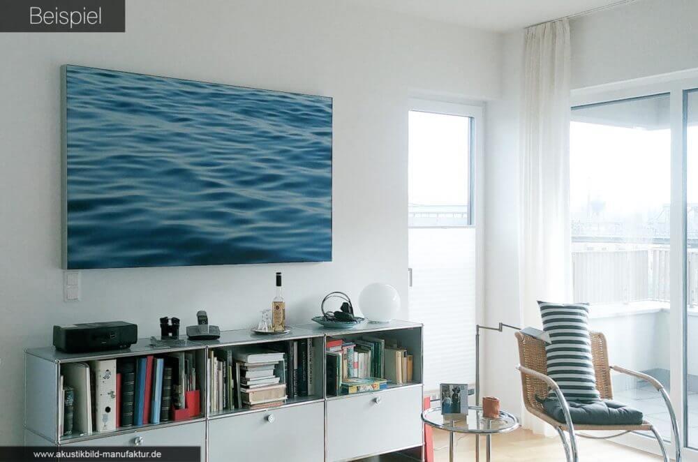 Schallschutzbilder im Wohnraum