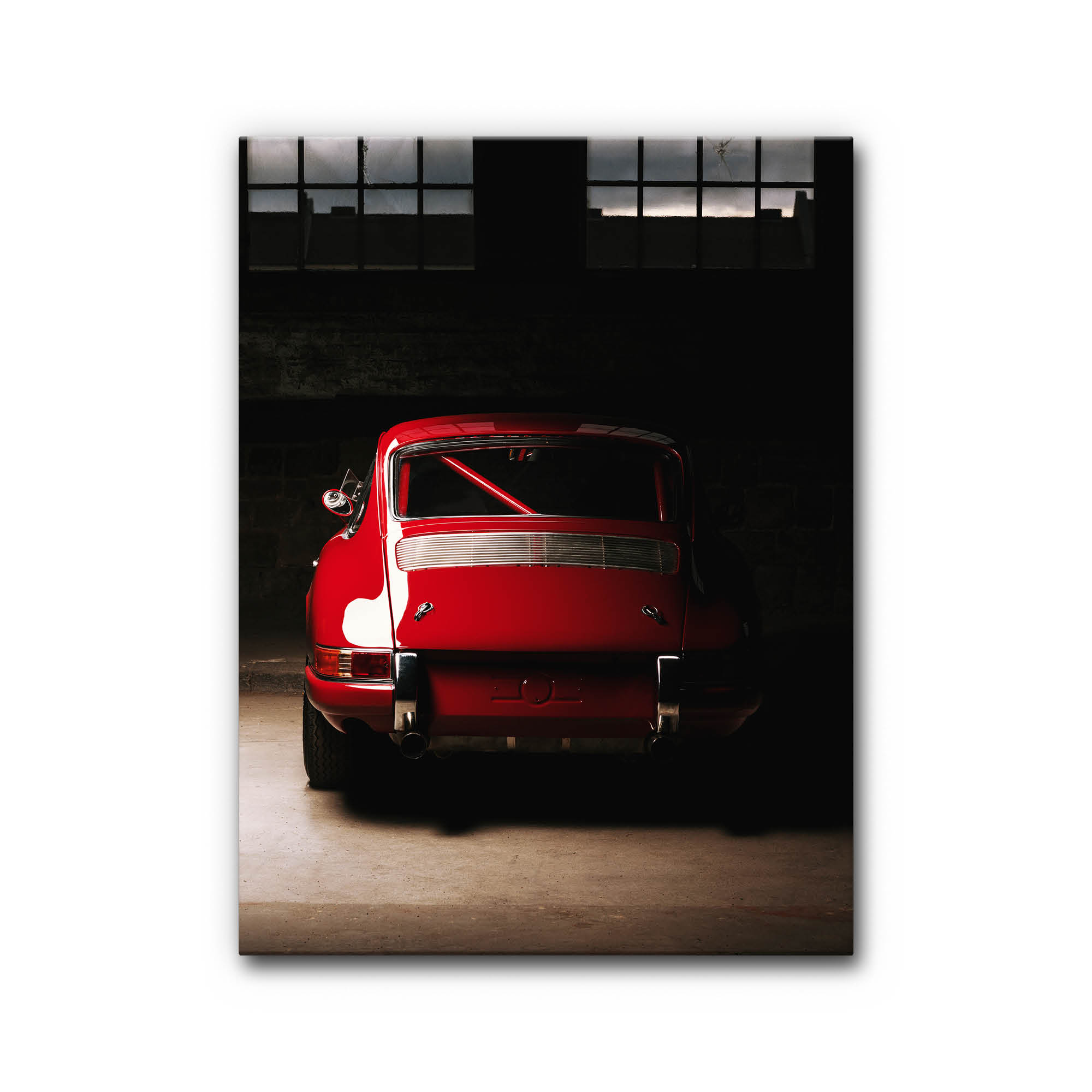 Akustikbilder Als Schalldaemmung Motiv Auto Leinwand Stil Aluminium
