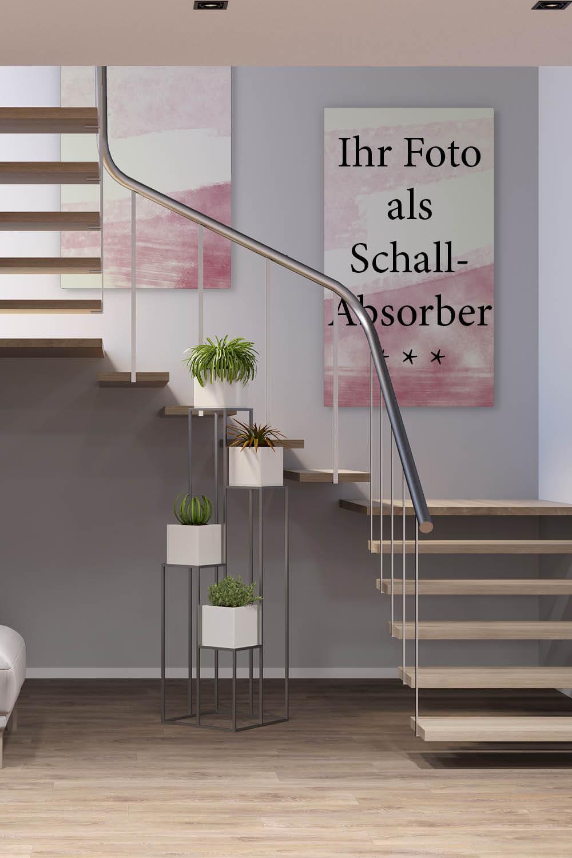 Akustik im Treppenhaus