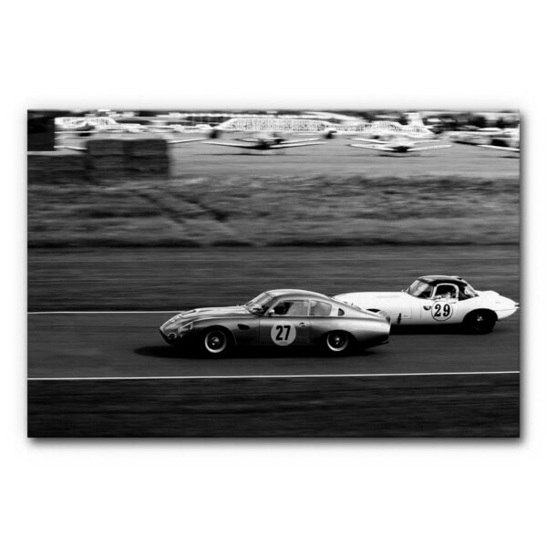 Akustikbild Oldtimer Autorennen