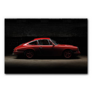 Akustikbild Porsche 311 Seitenansicht