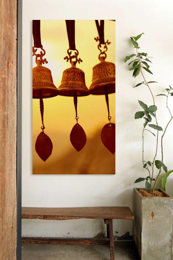 schallschutz bilder mit motiv: glocken in nepal