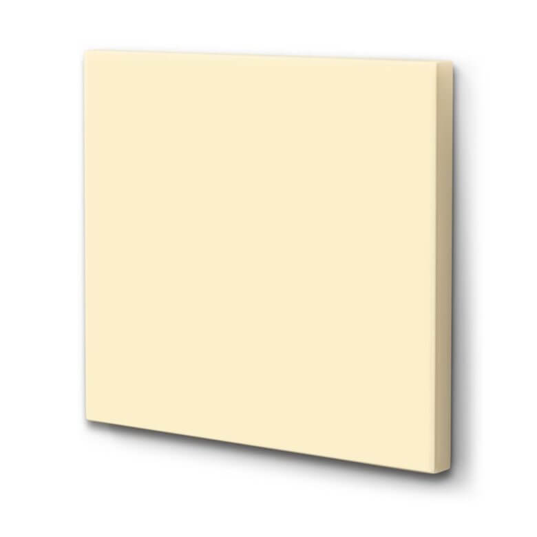 Akustikbild Light Yellow (CottonLine)