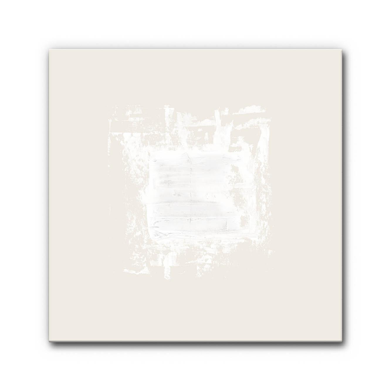 Akustikbild White 4 als Schallschutzelement