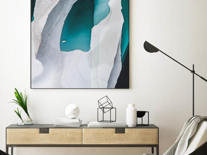 Winterstimmung mit Textilwechselrahmen: Bringen Sie Abwechslung an die Wand!