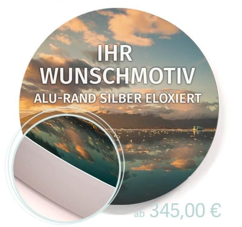 Rundes Akustikbild mit Wunschmotiv kaufen
