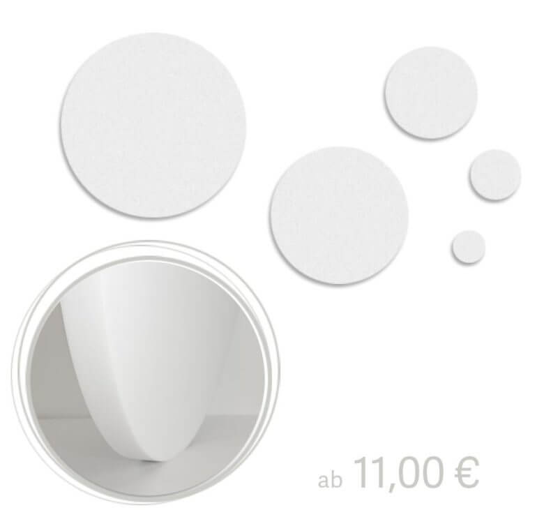 Runde Akustikplatten