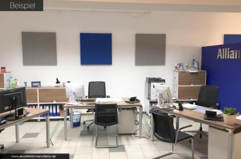 Akustik im Großraumbüro