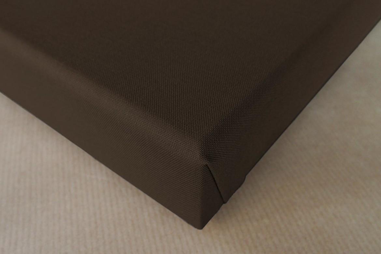 einfarbige akustikbilder schallschutz bilder choco braun die akustikbild manufaktur. Black Bedroom Furniture Sets. Home Design Ideas