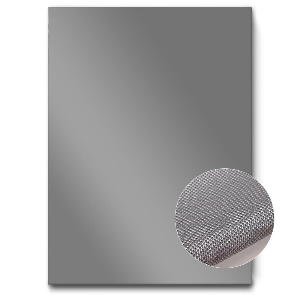 einfarbige akustikbilder silber metallic raumakustik verbessern 120x80 hoch die akustikbild. Black Bedroom Furniture Sets. Home Design Ideas