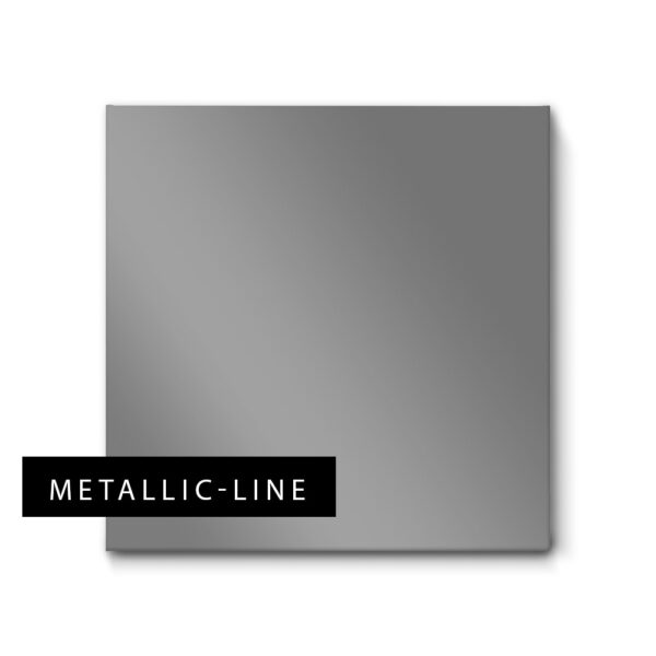 Akustikbilder in Silber und edlem Metallic-Glanz