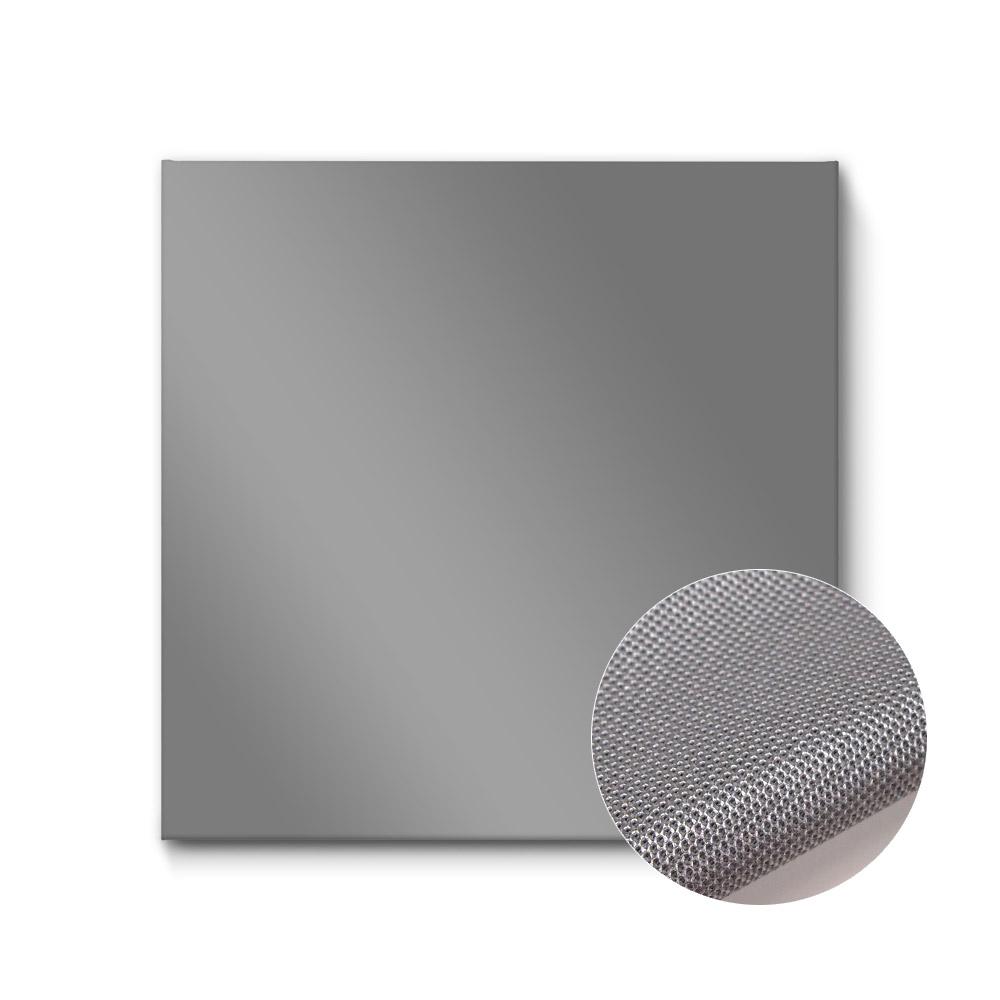 einfarbige akustikbilder silber metallic raumakustik verbessern quadratisch die akustikbild. Black Bedroom Furniture Sets. Home Design Ideas