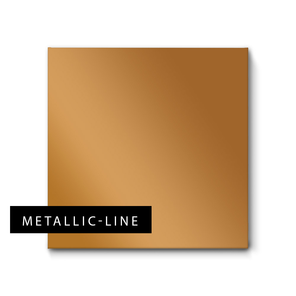 Akustikbilder in Gold und edlem Metallic-Glanz