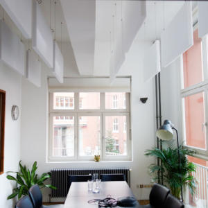runde absorber f r wand oder decke gegen hall in r umen. Black Bedroom Furniture Sets. Home Design Ideas