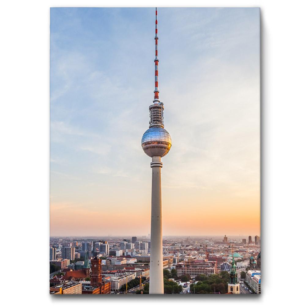 raumakustik buero berlin fernsehturm 50x70 die akustikbild manufaktur. Black Bedroom Furniture Sets. Home Design Ideas