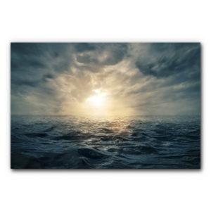 Schallabsorber Akustikbild Das Meer im Format DIN A0