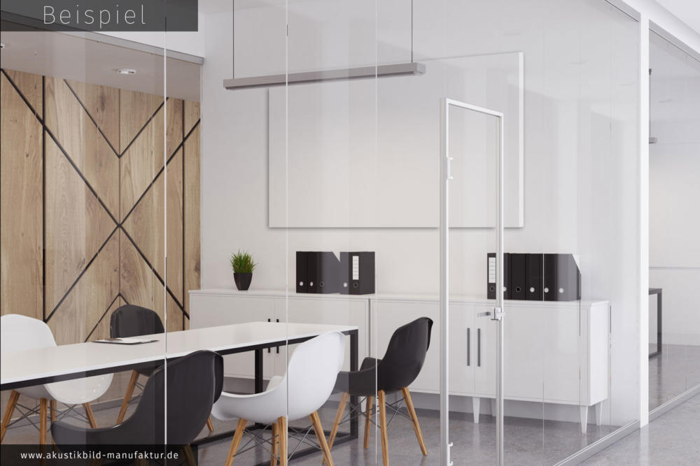 schallschutz im b ro mit akustikbildern die akustikbild. Black Bedroom Furniture Sets. Home Design Ideas