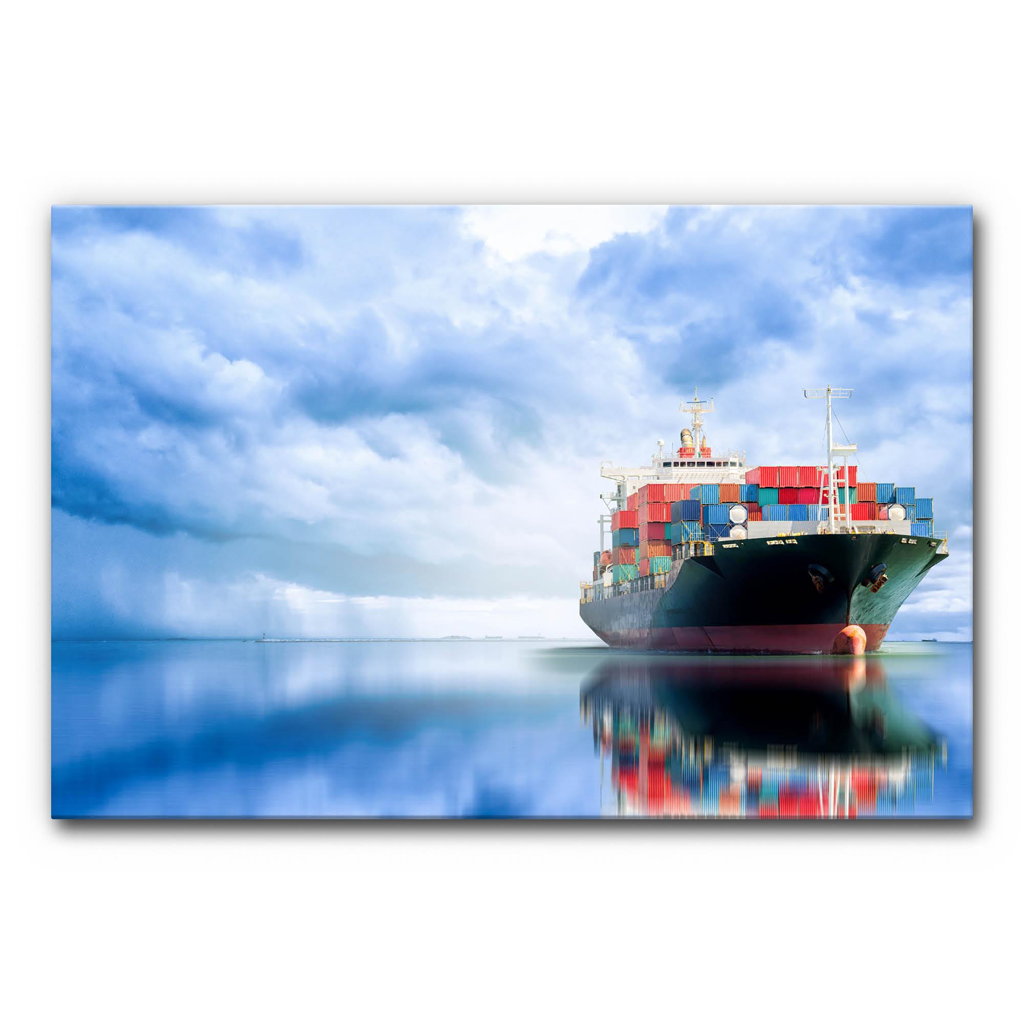 Akustikbild Frachtschiff