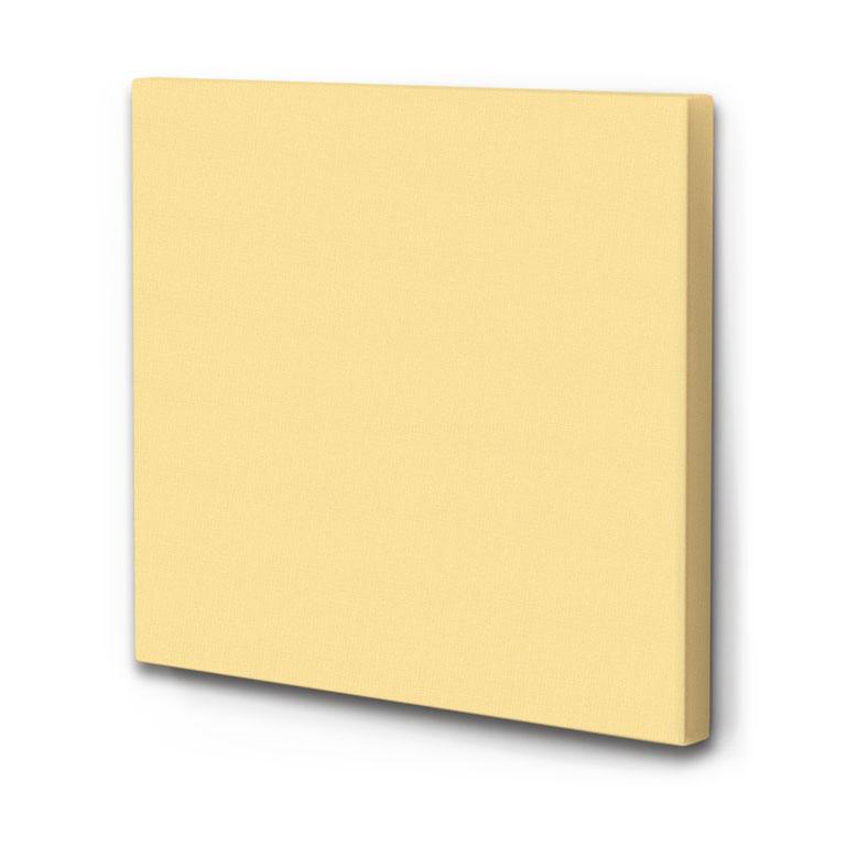 raumakustik verbessern schallabsorber akustikbild hell gelb die akustikbild manufaktur. Black Bedroom Furniture Sets. Home Design Ideas