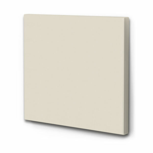 Wand Schallabsorber Akustikbild einfarbig Light Powder - Hell Beige
