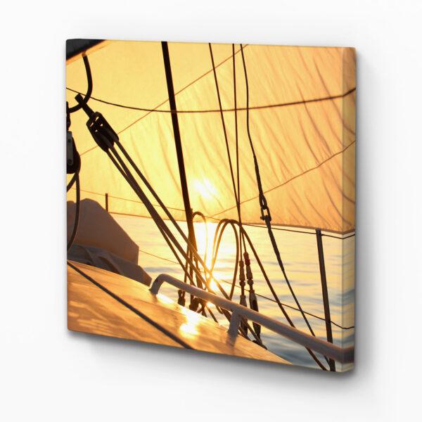Wand Schallabsorber Akustikbild Mit dem Wind