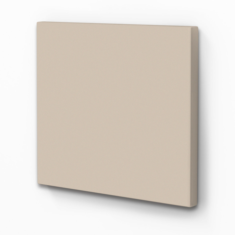 raumakustik verbessern schallabsorber akustikbild taupe. Black Bedroom Furniture Sets. Home Design Ideas
