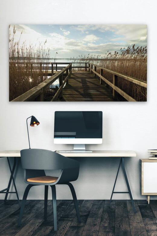Akustikbilder Wand: schicker Schallabsorber mit Motiv