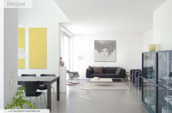 Akustikbilder im Wohnraum