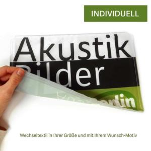 Textilwechsel für Aluminium-Rahmen-Bilder